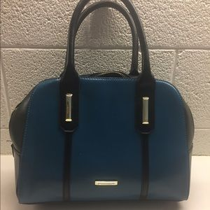 Anne Klein black and blue handbag/purse